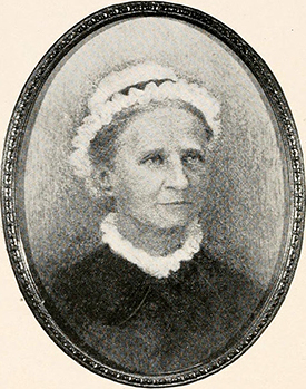 A miniature portrait of Cadwallader Jones' wife, Annie Isabella Iredell Jones, by her grandaughter A.I. Robertson. Image from Archive.org.