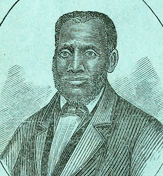 A portrait of Thomas H. Jones from The experience of Thomas H. Jones, who was a slave for forty-three years. Boston. Printed by Bazin & Chandler. 1862. Image from the Internet Archive.