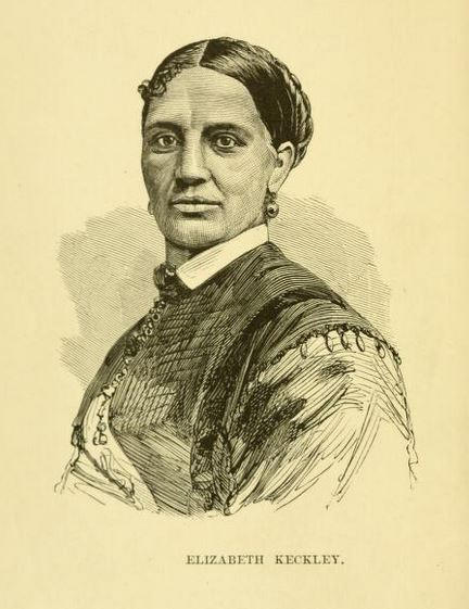 A sketch of Elizabeth Keckley, confidant of Mary Todd Lincoln