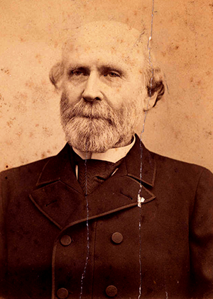 A photograph of Theodore Bryant Kingsbury, circa 1890s. Image from the New Hanover County Public Library Digital Archives.