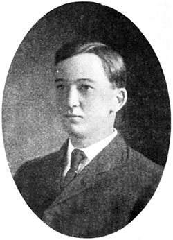 A photograph of Benjamin Rice Lacy Junior published in 1907. Image from Google Books.