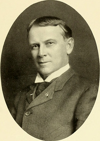 A photograph of Benjamin Rice Lacy from the 1905 North Carolina State University yearbook. Image from North Carolina State University.