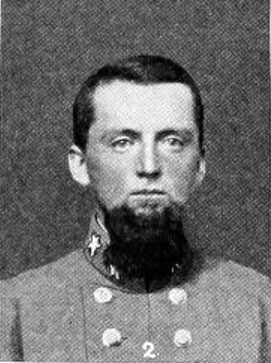 Portrait of John C. Lamb, Seventeenth Regiment.  From Walter Clark's <i>Histories of the Several Regiments and Battalions from North Carolina in the Great War 1861-65,</i> Vol. II, [p. 1], published 1901 by Nash Brothers Book and Job Printers, Goldsboro, North Carolina. Presented on Archive.org.