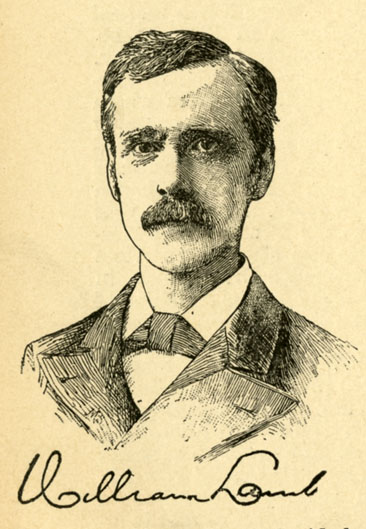 Engraved portrait of William Lamb, from James T. White's <i>The National Cyclopedia of American Biography,</i> Volume I, p. 274. Published 1898 by James T. White & Company, New York.  From the collections of the Government & Heritage Library, State Library of North Carolina.