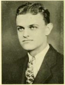 Senior portrait of John Albert Lang, Jr. From the 1930 University of North Carolina yearbook <i>The Yackety Yack</i>, Volume XXXX, p. 66, published 1930 by the Publications Union of the University of North Carolina Chapel Hill.