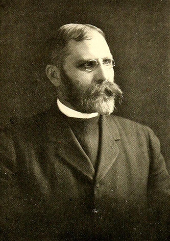 A photograph of Rev. George W. Lay from the 1910 St. Mary's School yearbook. Image from the Internet Archive.