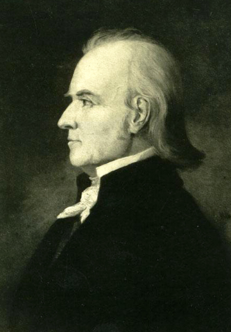 Portrait of William Lenoir. Image from the North Carolina Museum of History.
