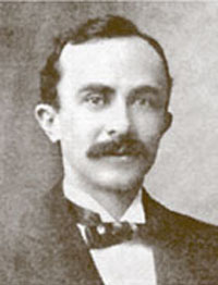 "Photograph of Exum Percival Lewis [not dated].  From the ""History of Berkeley Optometry - Part I"" (online exhibit)."