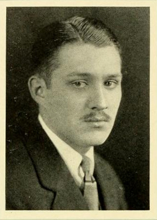 Senior portrait of Arthur Hill London, Jr., from the University of North Carolina yearbook <i>The Yackety Yack</i>, 1925.  Presented on DigitalNC.