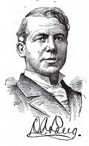 Engraved portrait of Daniel Albright Long, from James T. White's <i>The National Cyclopedia of American Biography,</i> Vol. 12, p. 184, published 1904 by the James T. White & Company, New York. Presented on Archive.org.