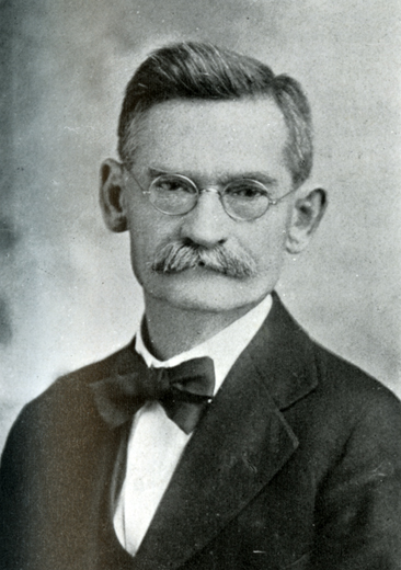 Photographic portrait of Jacob M. Lyerly, from White's <i>The National Cyclopaedia of American Biography,</i> Volume 20, p. 229, published 1929 by J.T. White & Company, New York, NY.  From the collections of the Government & Heritage Library, State Library of North Carolina.