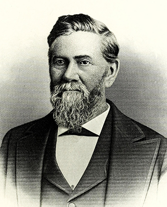 An engraving of Zachariah Inge Lyon published in 1917. Image from the Internet Archive / N.C. Goverment & Heritage Library.