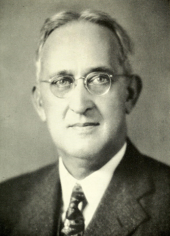 A photograph of Charles Edward Maddry published in 1962. Image from the Internet Archive.