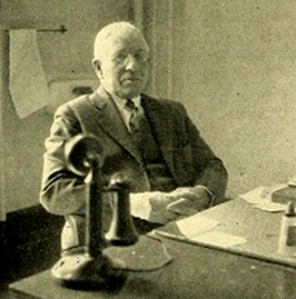 Dr. Isaac Hall Manning from the 1933 UNC-CH yearbook. Image from the University of North Carolina at Chapel Hill.