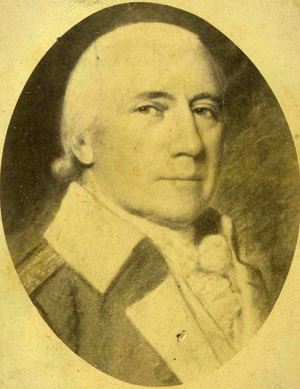 Photograph of a portrait of Alexander Martin. Image from the North Carolina Museum of History.