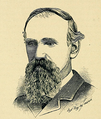 An engraving of William Joseph Martin published in 1887. Image from the Internet Archive.