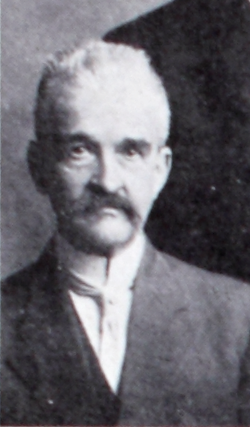 A photograph of Wilbur Fisk Massey published in 1910, when he was on the staff of the Progressive Farmer. Image from the N.C. Government & Heritage Library.