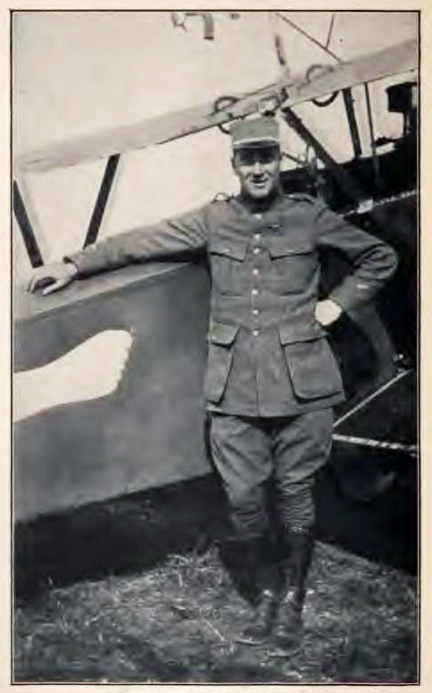 Photograph of James Rogers McConnell, circa 1915.  In <i>Flying for France with the American Escadrille at Verdun,</i> published 1917.  From Archive.org.