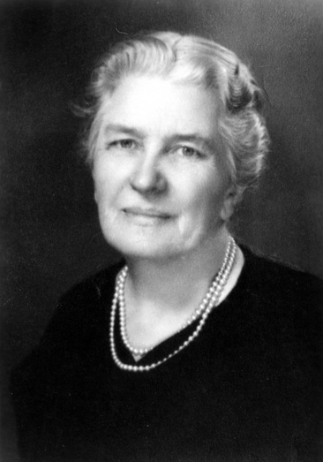 Black and white portrait of Jane S. McKimmon, circa 1950.  Item 0226595, University Archives Photographs, Special Collections Research Center at North Carolina State University Libraries.  Used by permission.