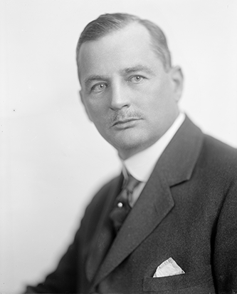 Photograph of Angus Wilton McLean. Image from the Library of Congress.