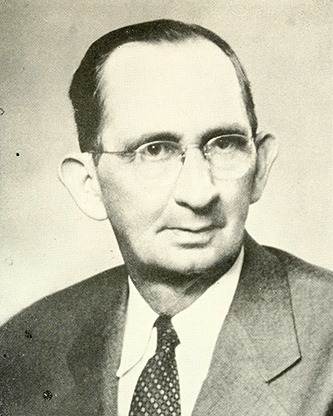A photograph of John Archibald McMillan published in 1949. Image from the Internet Archive.