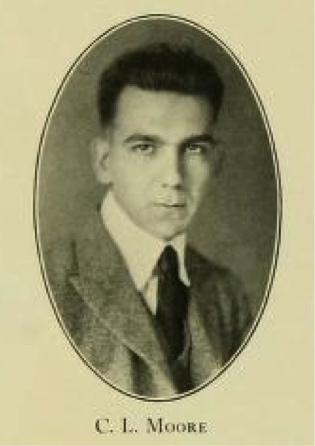 Senior portrait of Clifton Leonard Moore, University of North Carolina Class of 1922 from the <i>The 1922 Yackety Yack</i>, Vol. 32.