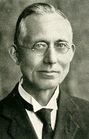 A photograph of Robert Lee Moore from the 1927 Mars Hill College yearbook. Image from the Internet Archive.