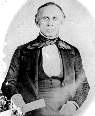 A photograph of William Dunn Moseley taken between 1845 and 1849. Image from Florida Memory, State Archives of Florida.