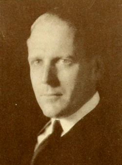 A photograph of James Bumgardner Murphy published in the 1925 University of North Carolina yearbook. Image from the University of North Carolina at Chapel Hill.