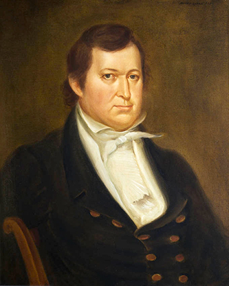 A portrait of Alabama's fourth governor John Murphy, painted by Maltby Sykes. Image from the Alabama Department of Archives and History.