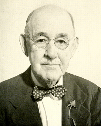 A photograph of John Alexander Oates published in 1958. Image from the Internet Archive.