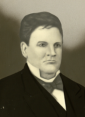 William Beck Ochiltree. Image from the Texas Jurists Collection, Rare Books & Special Collections, Tarlton Law Library, University of Texas at Austin.