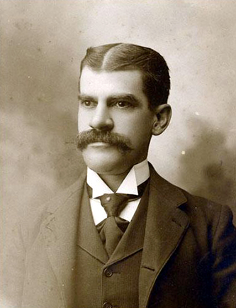 A photograph of Frederick Augustus Olds, circa 1880-1900. Image from the North Carolina Museum of History.