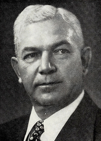 A photograph of Hubert Ethridge Olive, Sr. published in 1972. Image from the Internet Archive.