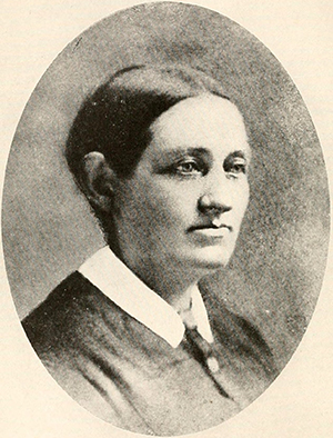 A photograph of Catherine Raboteau Page (1831-1897), wife of Frank Page. Image from Archive.org.