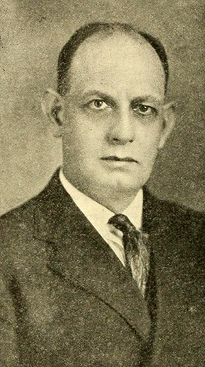 A photograph of Frank Page published in 1922. Image from the University of North Carolina at Chapel Hill.
