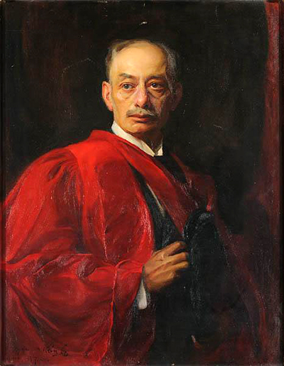 A painting of Walter Page Hines by Philip De Lazlo. Image from the North Carolina Museum of History.