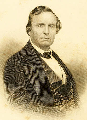 An engraving of Robert Paine published in 1884. Image from Archive.org.