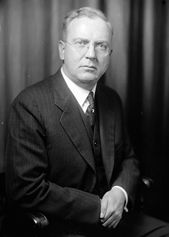 Photograph of Judge John J. Parker. Image from the Library of Congress.