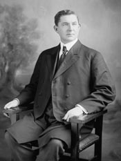 Gilbert Brown Patterson. Image from the Biographical Directory of the United States Congress.