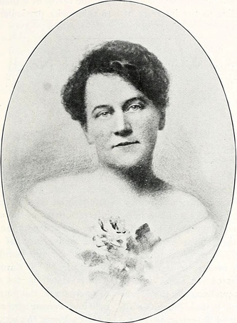 Portrait of Lucy Bramlette Patterson, circa 1914. Image from the North Carolina Digital Collections.