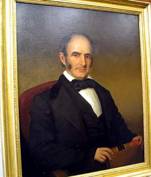 A portrait of Richmond Mumford Pearson by William Garl Browne, 1892. Image from the North Carolina Museum of History.