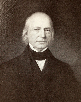 Photograph of a portrait of Ebenezer Pettigrew. Image from Archive.org/N.C. State Dept. of Archives and History.