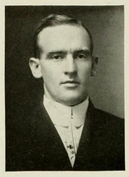 Image of Guy Berryman Phillips, from Yackety Yack 1913, [p.60], published 1913 by Chapel Hill, Publications Board of the University of North Carolina at Chapel Hill. Presented on Digital NC.