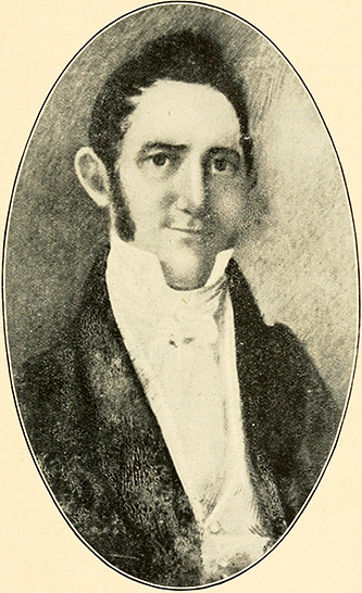Photograph of a portrait of General Thomas Gilchrist Polk. Image from Archive.org.