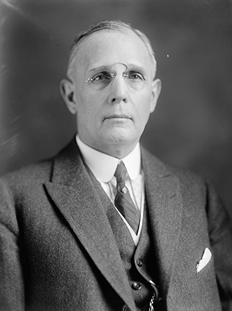 A photograph of Edward William Pou (1863-1934). Image from the Library of Congress.