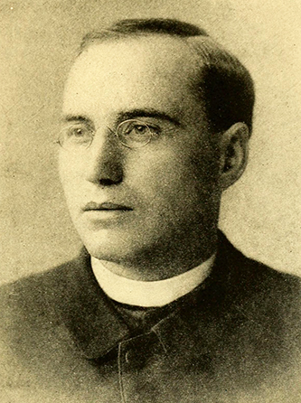 Father Thomas Frederick Price during his North Carolina days. Image from Archive.org.