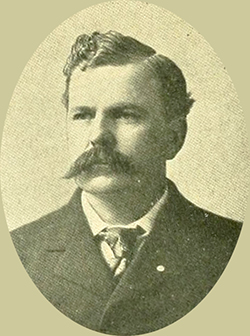 A photograph of Jeter C. Pritchard, circa 1898. Image from Archive.org.