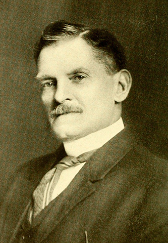 A photograph of John Turner Pullen published in 1913. Image from the Internet Archive.