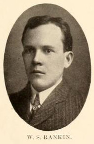 Image of Dr. Watson Smith Rankin, from The Howler at Wake Forest University (College), [p.15], published 1905 by Winston-Salem, N.C.: Wake Forest University. Presented on Digital NC.